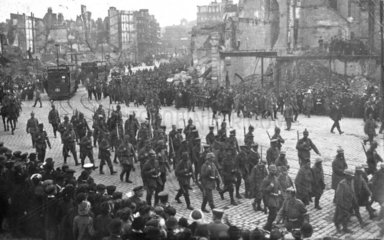 Kaputte Stadt  Westfront  Erster Weltkrieg