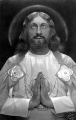 Schauspieler als Jesus  1930