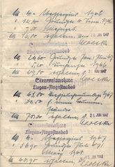 Steuererklaerung 1947