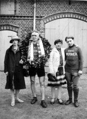 Radrennen  der Gewinner  1920