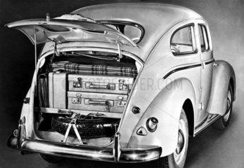 Taunus-Spezial 1950  Kofferraum