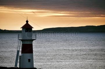 Kleiner Leuchtturm auf Island