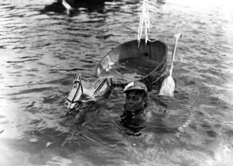 Pferderennen auf Wasser