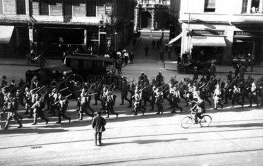 Einmarsch in 1. Weltkrieg 1914