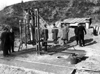 Alte Bohrmaschine  1930
