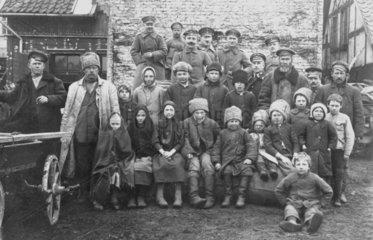Deutsche Soldaten in Russland  Erster Weltkrieg