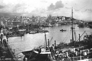 Genova  Italien  Hafen