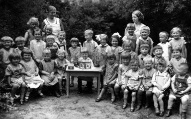 Schulklasse  1900