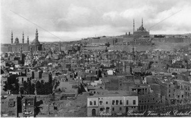 historische Ansicht von Kairo