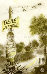 Baby zu verkaufen  1910