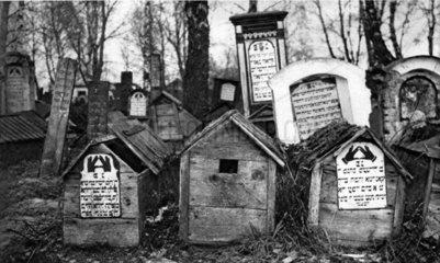 Juedischer Friedhof ca. 1917