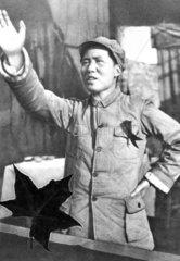 Portraet von dem jungen Mao Tse-tung
