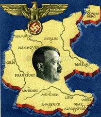 Poster von Hitlers Reich 13. Maerz 1938