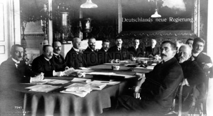 Deutschlands neue Regierung 1920
