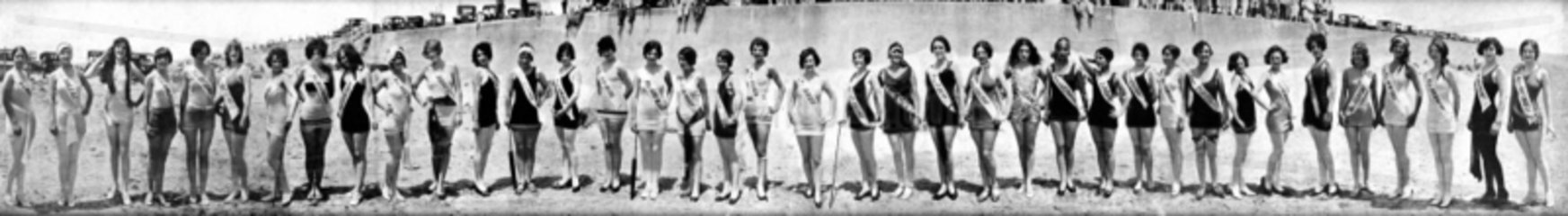 Miss world Wahl 1920