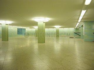 U-Bahn Tunnel am Alexanderplatz