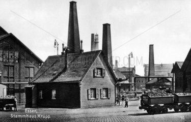 Fabrikgelaende - Essen das Stammhaus von Krupp