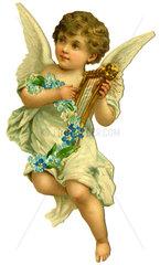 Engelchen spielt Harfe  1880