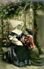 Nonne  Frau  Baby  1920