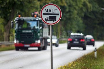 Maut auf Bundesstrasse