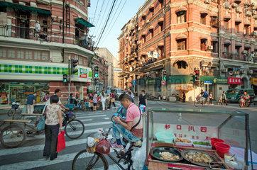 Innenstadt Shanghai