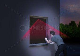 Smart Home - Alarm Fenster
