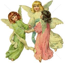 drei Engel  Oblate  1900