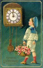 Neujahrskarte  1911