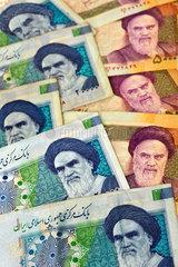 Iranisches Geld  Banknoten  2009
