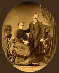 Ehepaar  um 1880