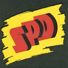 altes SPD-Logo  um 1953
