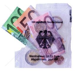 Euro Starterkit  Symbol Wirtschaftshilfe