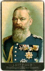 Prinzregent Luitpold von Bayern  um 1896
