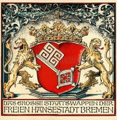 Bremer Staatswappen  1919