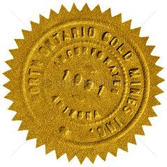Siegel  Goldsiegel  1931