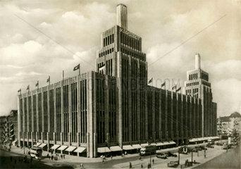 Karstadt am Hermannplatz  Berlin  um 1930
