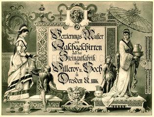 Villeroy & Boch  Musterkatalog  1886