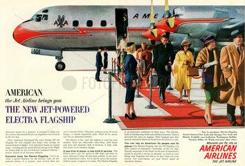 American Airlines  Werbung  1959