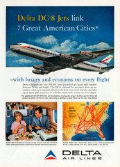 Delta Airlines  Werbung  1959