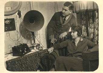 Radiohoerer  um 1924