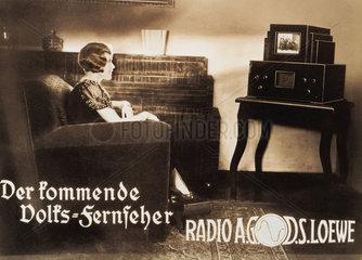 Fernsehzuschauerin  1933