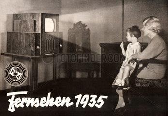 Fernsehzuschauer  1935