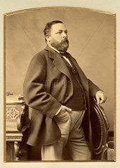 Portraet eines Mannes  um 1892