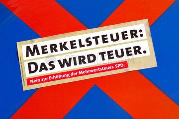 SPD Wahlversprechen zur Mehrwertsteuer