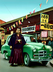 japanischer PKW  Tokio  1955