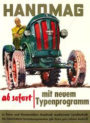 Hanomag Traktor  1957