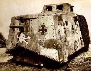 erster deutscher Panzer  1917