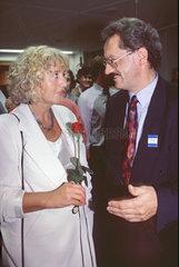 Renate Schmidt  Christian Ude  SPD  Wahlnacht 1994
