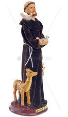 Hl. Franziskus  Franz von Assisi  Heiligenfigur  1990