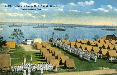 Guantanamo Bay  US Marinestuetzpunkt  1914